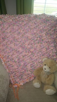Dipity dots blanket for little girl