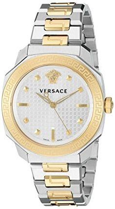Versace Women's VQD050015 Dylos Analog Display Swiss Quartz Two Tone Watch Review