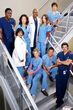 50 Things You Never Knew About the Making of 'Grey's Anatomy' Anatomy Grey, Greys Anatomy Couples, Greys Anatomy Facts, Greys Anatomy Trivia, Grays Anatomy, Justin Chambers, Derek Shepherd, Patrick Dempsey, Harvey Specter