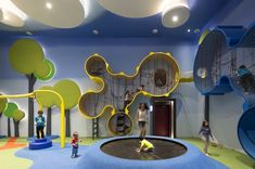 """Cinemaxx Junior, a colourful, kids-friendly integrated cinema with playground in Indonesia, has been awarded the """"Best Leisure or Entertainment Venue"""" accolade at FX International Design Awards"""