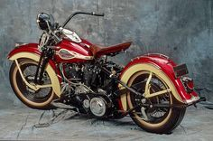 Harley Davidson Knucklehead, 1940...Brought to you by #HouseofInsurance in…