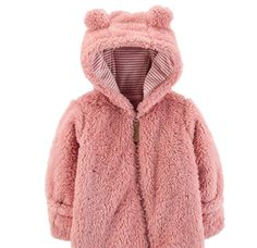 VEKDONE Unisex Baby Hooded Puffer Jackets Cartoon Cute Jumpsuit Winter Snowsuit Coat Romper