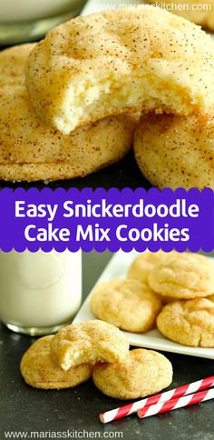 Gingerbread with Cookeo - HQ Recipes Sugar Free Cake Mix Recipe, Recipes Using Cake Mix, Cake Mix Cookie Recipes, Cake Mix Desserts, Cookie Desserts, Easy Desserts, Delicious Desserts, Cake Box Cookies, Yummy Cookies