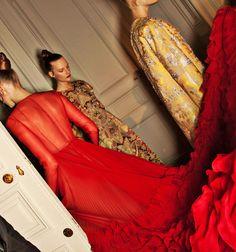 Backstage Valentino Haute Couture Winter 2012