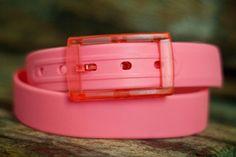 HUCKSTRAPS - She Calls it Coral!! Love this #belt