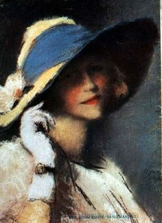 ▴ Artistic Accessories ▴ clothes, jewelry, hats in art - József Rippl-Rónai