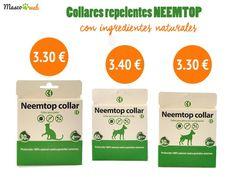 #neemtop #collares #repelentes #perros #gatos #insectos