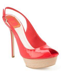 Christian Dior Patent Peep Toe Slingback, http://www.favbuy.com/product/ycddujfy-Christian_Dior_Patent_Peep_Toe_Slingback