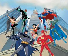 Justice League by Bruce Timm