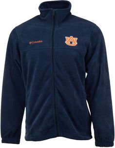 Columbia Men's Auburn Tigers Flanker Full-Zip Jacket