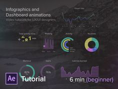 Infographics and Dashboard Animations - UX in Motion