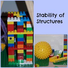 Science for kids - Stability of Structures | Science Sparks