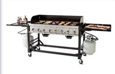 BBQ grill available for rent. Perfect for parties!
