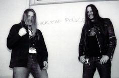 Darkthrone comin' straight from the underground. Carpathian Forest, Punk Genres, Extreme Metal, Metal Magazine, Thrash Metal, Alternative Music, Metalhead, Death Metal, Metal Bands