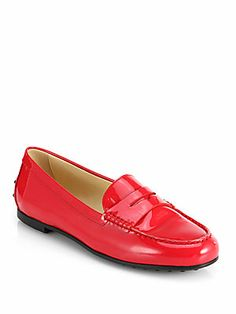 Tod's Patent Leather Drivers