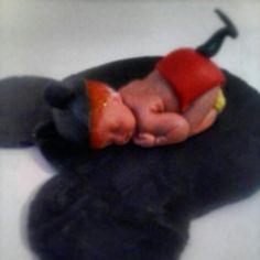 Gumpaste Mickey baby
