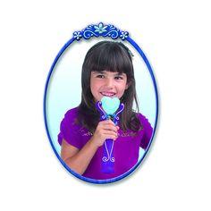 ¡Elegante micrófono portátil Frozen con distintos efectos de sonido!
