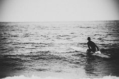 Surfing - Black And White