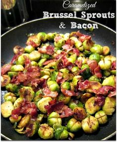 How to Cook Brussel Sprouts (w/Recipe for Caramelized Brussel Sprouts & Bacon} - Older Mommy Still Yummy