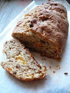 Delicious blog: Špaldová štola s tvarohem Delicious Blog, Pizza, Banana Bread, Fit, Desserts, Deserts, Dessert, Postres, Food Deserts