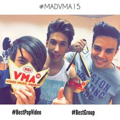 2/3<3 #madvma15 #bestpopvideo #bestgroup #soproud #noisers <3<3<3