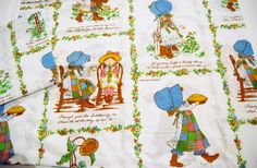 Vintage Pair of Holly Hobby Pillowcases by CheekyVintageCloset on Etsy