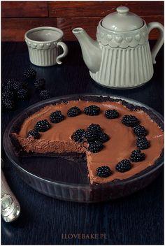 Tarta czekoladowa z jeżynami - I Love Bake Oreo, Harry Potter, Cake, Desserts, Food, Tailgate Desserts, Deserts, Kuchen, Essen