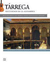Tárrega: Recuerdos de la Alhambra (Book)