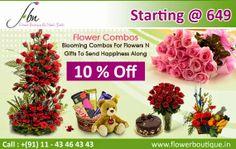 Top Florist in Delhi : Flower Boutique Online Flowers