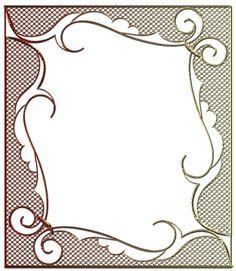Rámečky síťovina - čtverec a obdélník   vánoční blog