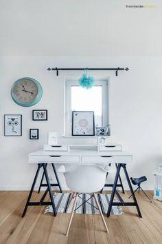 Desain Skandinavia Modern Bertema Putih Bersih