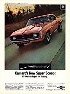 1969 Chevrolet Camaro SS Sport Coupe
