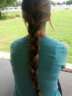 Easy french braid