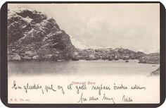 Stamsund havn. Utg Narvesen Stemplet -1904.