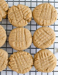 Honey Sweetened Peanut Butter Cookies made with whole wheat flour and no butter, oil, or shortening. This whole food dessert recipes is a family favorite!