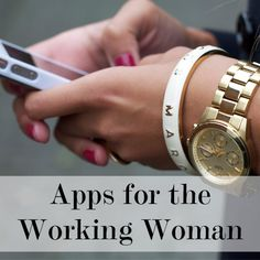Apps for the Working Woman