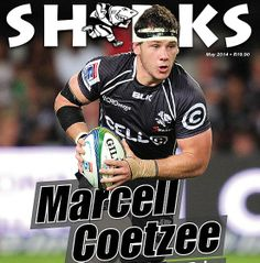 Page through the last issue of the Sharks magazine, featuring Marcell Coetzee!