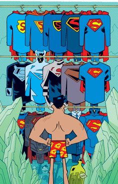 SUPERMAN #42 Teen Titans Go! Variant Cover