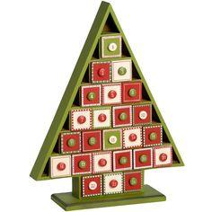 Wooden Advent Calendar Tree £33