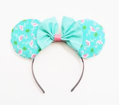A personal favorite from my Etsy shop https://www.etsy.com/listing/398049713/vintage-style-flamingo-ears-flamingo