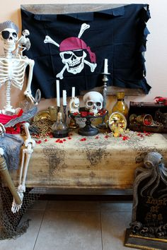 Spooky Pirate Party