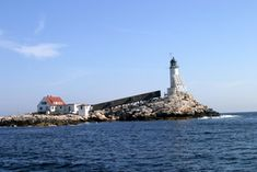 The Isles of Shoals Lighthouse/NH (White Island