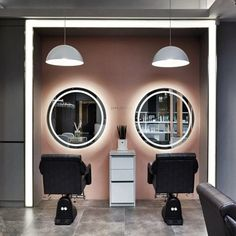 Home Beauty Salon, Home Hair Salons, Beauty Salon Decor, Beauty Salon Design, Home Salon, Hair And Beauty Salon, Hair Salons Design, Hair And Nail Salon, Barber Shop Interior