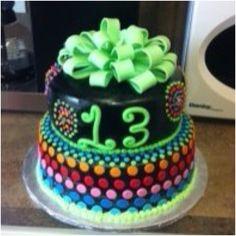 Girls birthday cake @Debby Rodríguez Lovett