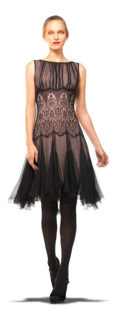 Silk Chiffon Dress - love the skirt, and just ove the hip, but above that, no. Fashion Mode, Love Fashion, Modern Fashion, Silk Chiffon, Chiffon Dress, Lace Silk, Lace Dress, New Arrival Dress, Beautiful Gowns