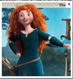 Princess Merida Costume (Pixar's Brave) ~ I, Geek