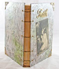 OOAK Journal - Faith - Prayer Journal - Wedding Guestbook - Travel Journal - Artist Notebook -