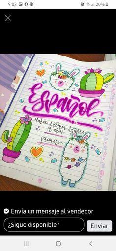 Notebook, Bullet Journal, Lettering, Llamas, School, Instagram, Diary Ideas, Thoughts, Creativity