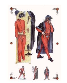 A.a.v.v. - Maschere Italiane  Pantalone, this was one of the characters in the plays