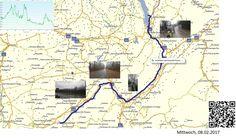 Der Isère entlang  Vollständiger Bericht bei: http://agu.li/Qv  Am morgen eher etwas hügelig, doch am Nachmittag, die Fahrt entlang der Isère hatte schon fast etwas Meditatives. Wegen dem vielen Regen, ist dabei auch das GPS ausgestiegen. Geplant waren 134 KM und 1079 Höhenmeter.